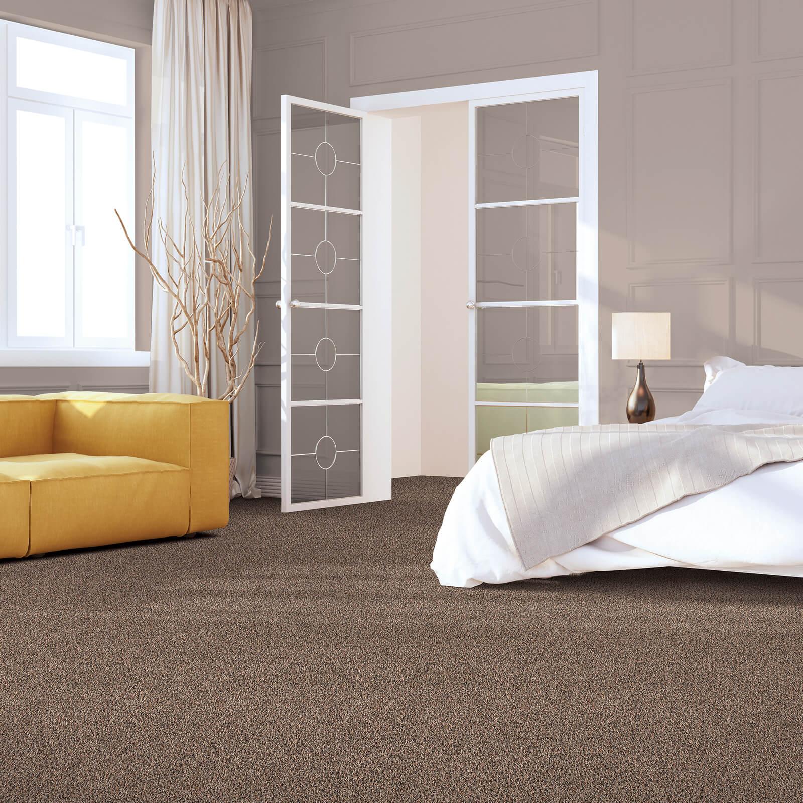 Impressive carpet in bedroom | We'll Floor You