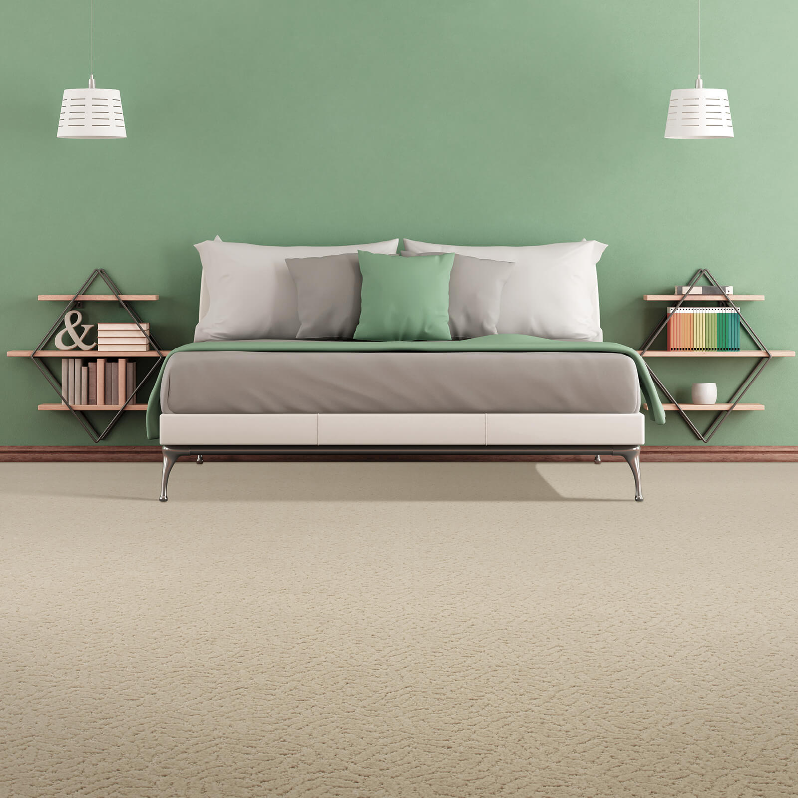Green colorwall | We'll Floor You