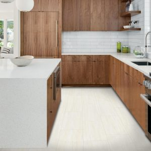 White tiles in kitchen | We'll Floor You