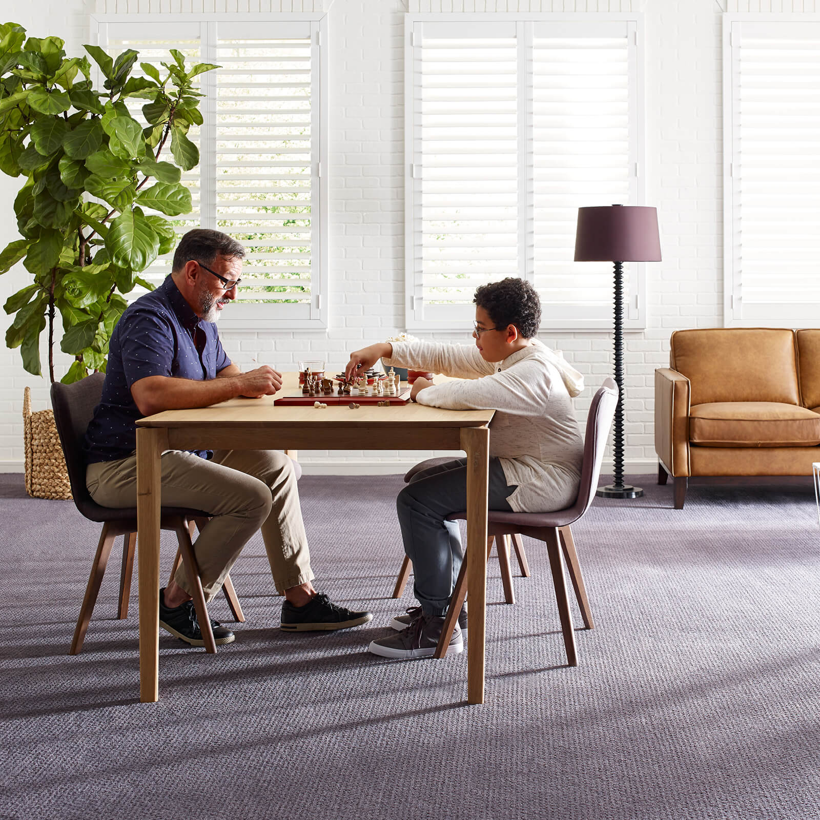 Playing chess on Carpet | We'll Floor You