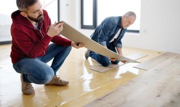 Vinyl flooring by professionals | We'll Floor You