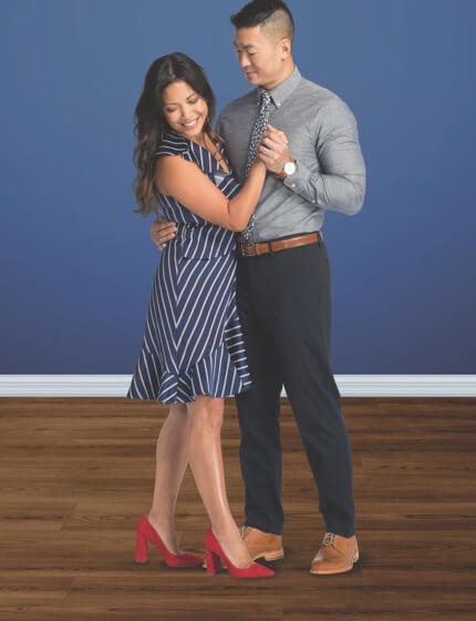 Couple dancing on Vinyl floor | We'll Floor You