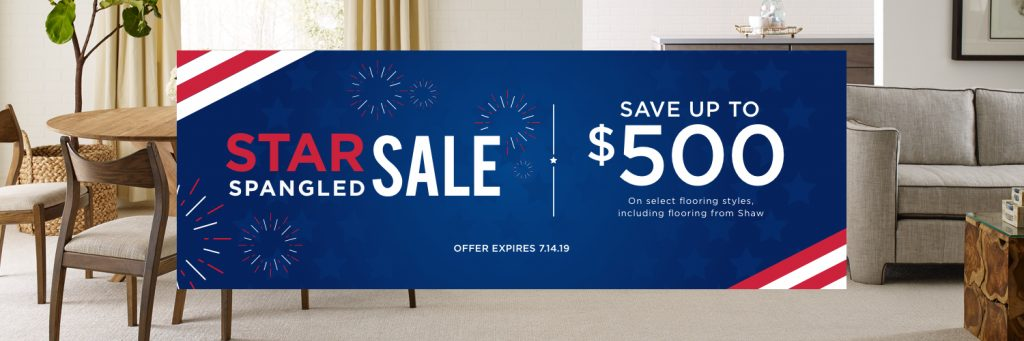 Star Spangled Sale | We'll Floor You