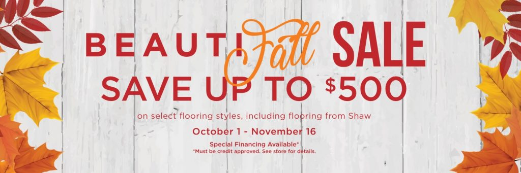 Beautifall sale banner | We'll Floor You