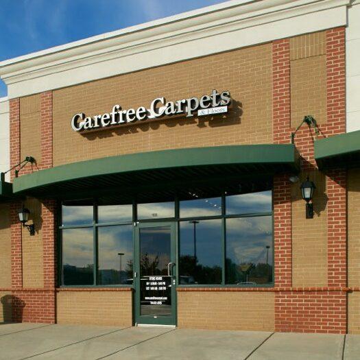 Carefree carpets storefront | We'll Floor You
