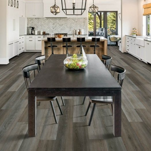 Dining table on laminate floor | We'll Floor You